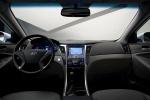 Picture of 2014 Hyundai Sonata Hybrid Cockpit in Gray