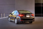 2015 Hyundai Sonata Limited in Dark Truffle - Static Rear Left View