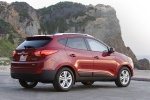 Picture of 2010 Hyundai Tucson AWD in Garnet Red