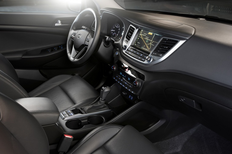 2017 Hyundai Tucson Limited 1.6T AWD Front Seats Picture