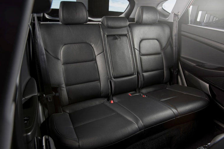 2017 Hyundai Tucson Limited 1.6T AWD Rear Seats Picture