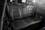 2017 Hyundai Tucson Limited 1.6T AWD Rear Seats