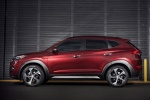 2018 Hyundai Tucson in Ruby Wine - Static Side View