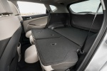 Picture of a 2019 Hyundai Tucson's Rear Seats Folded