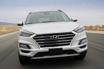 2019 Hyundai Tucson in Molten Silver - Driving Frontal View