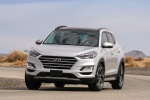 2019 Hyundai Tucson in Molten Silver - Driving Front Left View