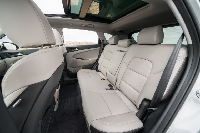 2020 Hyundai Tucson Rear Seats Picture