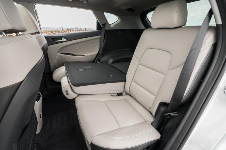 2020 Hyundai Tucson Rear Seat Folded Picture