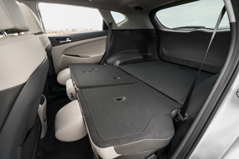 2020 Hyundai Tucson Rear Seats Folded Picture