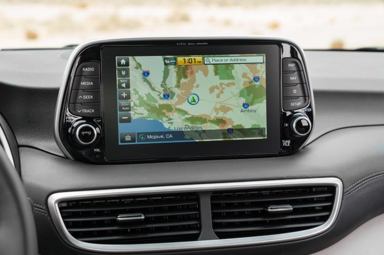 2020 Hyundai Tucson Dashboard Screen Picture