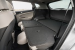 Picture of a 2020 Hyundai Tucson's Rear Seats Folded