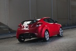 2012 Hyundai Veloster in Boston Red - Static Rear Right View