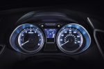 Picture of 2012 Hyundai Veloster Gauges