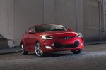 2012 Hyundai Veloster in Boston Red - Static Front Right View