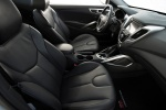 Picture of 2015 Hyundai Veloster RE:FLEX Edition Front Seats in Black