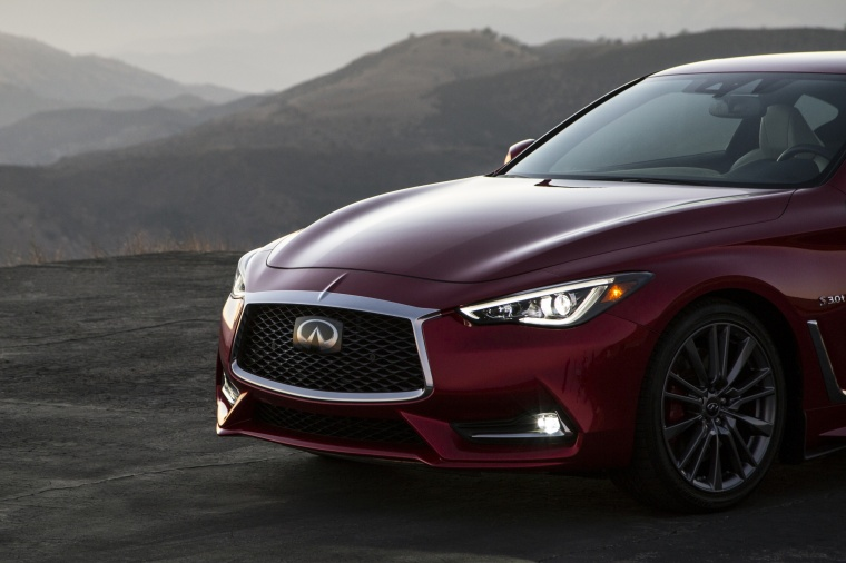 2018 Infiniti Q60 Coupe 3.0T RED SPORT 400 Front Fascia Picture