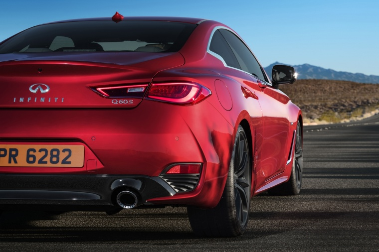 2018 Infiniti Q60 Coupe 3.0T RED SPORT 400 Rear Fascia Picture
