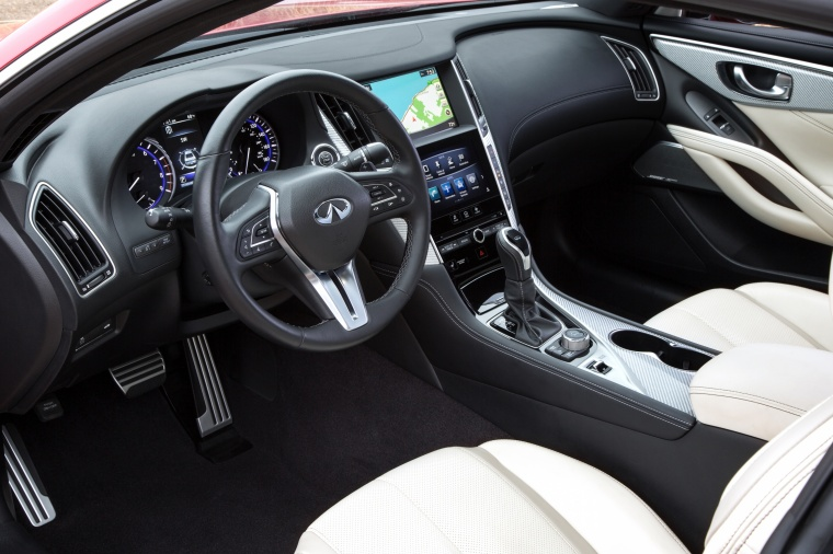 2018 Infiniti Q60 Coupe 3.0T RED SPORT 400 Interior Picture