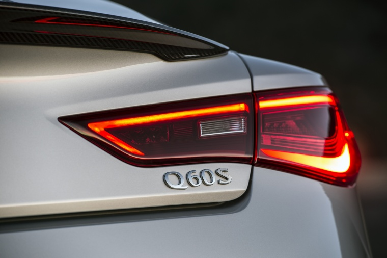 2018 Infiniti Q60 Coupe 3.0T Tail Light Picture