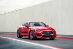 2018 Infiniti Q60 Coupe 3.0T RED SPORT 400 in Dynamic Sunstone Red - Static Front Right View