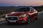 2018 Infiniti Q60 Coupe 3.0T RED SPORT 400 in Dynamic Sunstone Red - Driving Front Left View