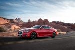 2018 Infiniti Q60 Coupe 3.0T RED SPORT 400 in Dynamic Sunstone Red - Driving Front Left Three-quarter View