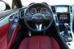 Picture of 2018 Infiniti Q60 Coupe 3.0T Cockpit in Monaco Red