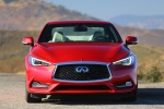 2018 Infiniti Q60 Coupe 3.0T RED SPORT 400 AWD in Dynamic Sunstone Red - Static Frontal View