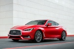 2018 Infiniti Q60 Coupe 3.0T RED SPORT 400 AWD in Dynamic Sunstone Red - Static Front Left Three-quarter View