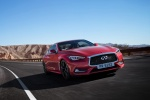 2018 Infiniti Q60 Coupe 3.0T RED SPORT 400 in Dynamic Sunstone Red - Driving Front Right View