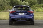 2018 Infiniti QX30S in Ink Blue - Static Rear View