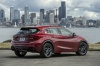 2019 Infiniti QX30S in Magnetic Red from a rear right view