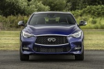 Picture of a 2019 Infiniti QX30S in Ink Blue from a frontal perspective