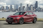 2019 Infiniti QX30S in Magnetic Red - Static Front Left View