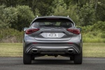 Picture of a 2019 Infiniti QX30 AWD in Graphite Shadow from a rear perspective