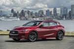2019 Infiniti QX30S in Magnetic Red - Static Front Left Three-quarter View