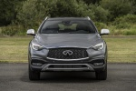 Picture of a 2019 Infiniti QX30 AWD in Graphite Shadow from a frontal perspective
