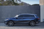 2018 Infiniti QX60 in Hermosa Blue - Static Side View