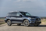 2018 Infiniti QX60 in Hermosa Blue - Static Front Right Three-quarter View