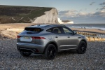 Picture of a 2019 Jaguar E-Pace P300 R-Dynamic AWD in Corris Gray from a rear right perspective