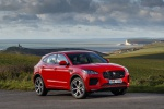 2019 Jaguar E-Pace P300 R-Dynamic AWD in Firenze Red Metallic - Static Front Right Three-quarter View