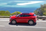 2020 Jaguar E-Pace P300 R-Dynamic AWD in Firenze Red Metallic - Driving Left Side View