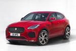2020 Jaguar E-Pace P300 R-Dynamic AWD in Firenze Red Metallic - Static Front Left Three-quarter View