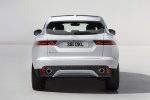 Picture of a 2020 Jaguar E-Pace P250 AWD in Fuji White from a rear perspective