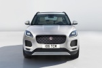Picture of a 2020 Jaguar E-Pace P250 AWD in Fuji White from a frontal perspective