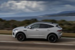 2020 Jaguar E-Pace P300 R-Dynamic AWD in Fuji White - Driving Left Side View