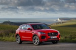 2020 Jaguar E-Pace P300 R-Dynamic AWD in Firenze Red Metallic - Static Front Right Three-quarter View