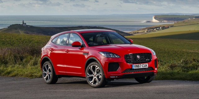 Research the 2020 Jaguar E-Pace
