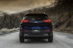 Picture of a 2014 Jeep Cherokee Limited 4WD in True Blue Pearlcoat from a rear perspective