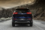 Picture of a 2015 Jeep Cherokee Limited 4WD in True Blue Pearlcoat from a rear perspective